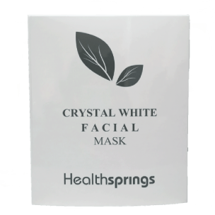 Crystal White Facial Mask by Healthsprings