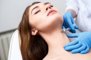 Fillers for the neck