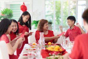 Maintain your weight during CNY