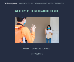 Medications delivery no matter where you are