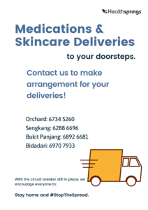 Skincare deliveries