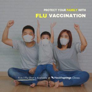 Prevent getting flu symptoms